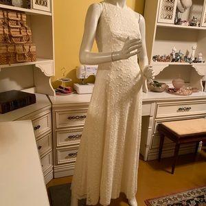 Vintage ivory dress.
